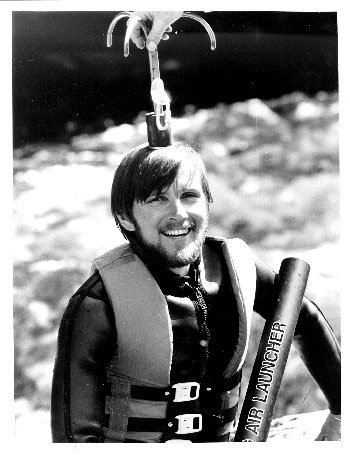 White water training trip in North Wales for the Nare Expedition in 1984