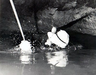 Lake Sump, Peak Cavern